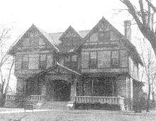 photo of original Collegeside Congregational Church