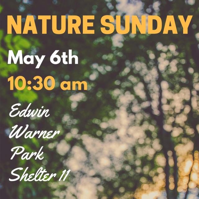 NATURE SUNDAY