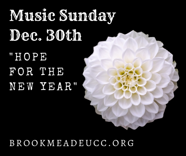 music sunday 12.30.18
