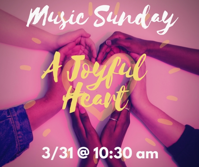 3.31 music sunday