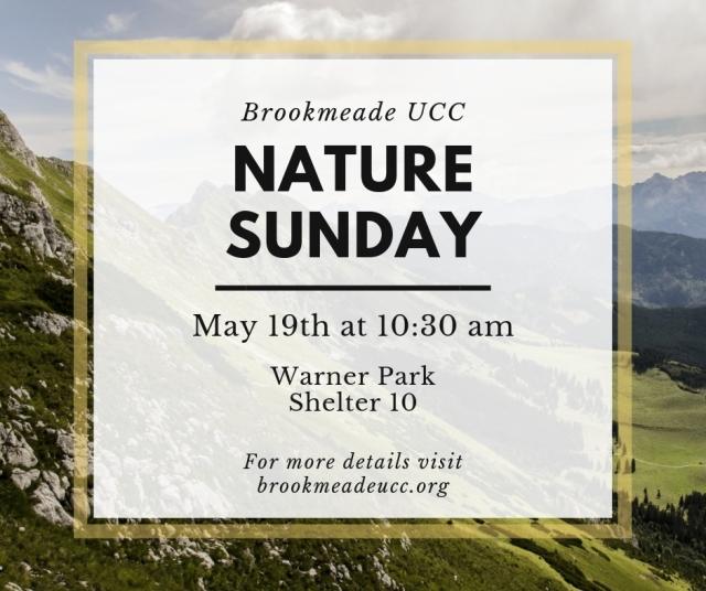 nature sunday may 2019