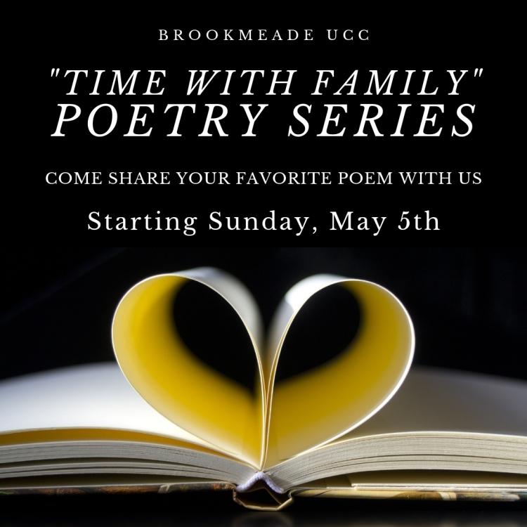poetry series may 2019