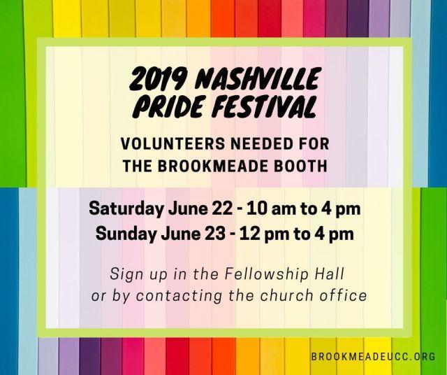 pride volunteer sign up